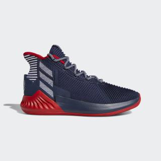D Rose 9 Shoes Collegiate Navy / Scarlet / Ftwr White AQ0036