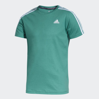 Remera Essentials BOLD GREEN/WHITE/WHITE CW2123
