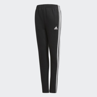 Essentials 3-Stripes Fleece Pants Black BQ2832