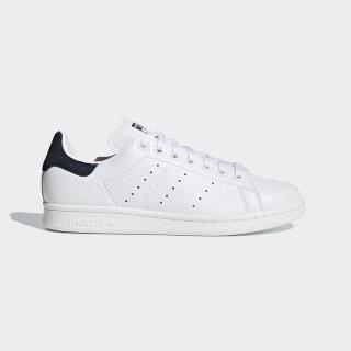 Sapatos Stan Smith Ftwr White / Ftwr White / Collegiate Navy B41626
