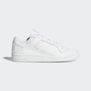 Forum Low Decon Shoes Ftwr White / Ftwr White / Blue B37873