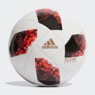 Bola FIFA World Cup Knockout Praia SOLAR RED/BLACK CW4708