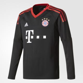 FC Bayern Munich Replica Goalkeeper Jersey Black/Fcb True Red/White AZ7945