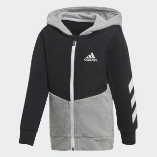 Comfi træningsjakke Black / Medium Grey Heather / Reflective Silver DJ1487