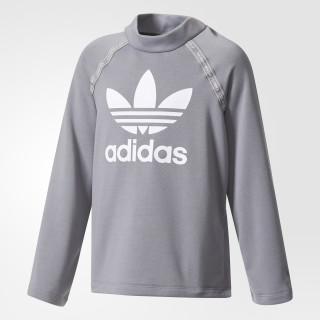 Sweatshirt Grey Three/White BQ4036