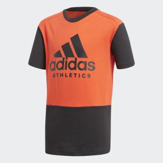 Camiseta ID HI-RES RED S18/BLACK/BLACK CF6453