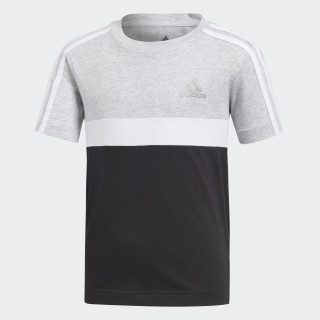 Cotton Colorblock T-shirt Light Grey Heather / Black / White DJ1479