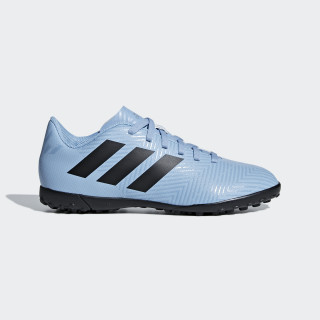 Calzado de Fútbol NEMEZIZ MESSI TANGO 18.4 TF J ASH BLUE S18/CORE BLACK/RAW GREY S18 DB2400