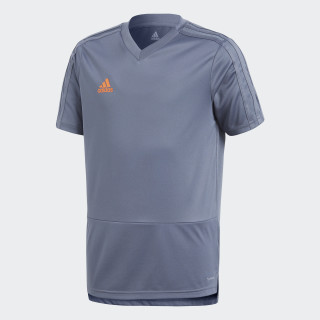 Camiseta entrenamiento Condivo 18 Grey/Orange CG0378