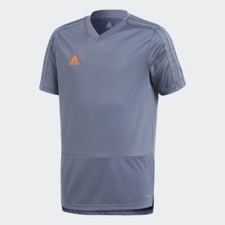 Maglia da allenamento Condivo 18 Grey/Orange CG0378