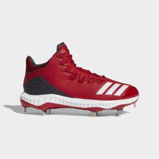 Icon Bounce Mid Cleats Power Red / Cloud White / Carbon CG5178