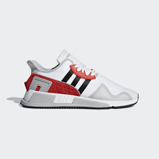 EQT Cushion ADV Shoes Ftwr White / Core Black / Hi-Res Red BB7180