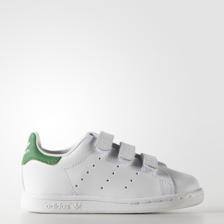 Tenis Stan Smith Con Velcro Bebés WHITE/GREEN M20609
