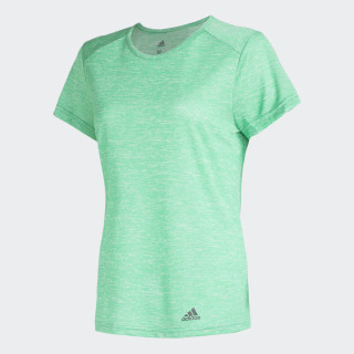 Remera Run HI-RES GREEN S18/BLACK CV3765