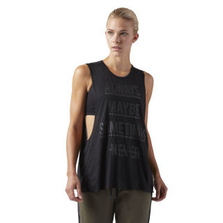 Training Supply Muscle Tank Black CF8608