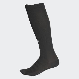 Chaussettes montantes à effet de compression Alphaskin Ultralight Black / White CG2676