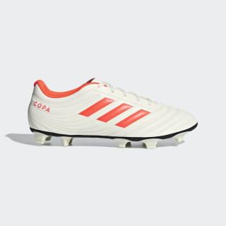 Zapatos de Fútbol COPA 19.4 FG off white/solar red/core black D98067