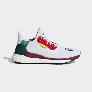 Pharrell Williams x adidas Solar Hu Glide ST sko Collegiate Burgundy / Ftwr White / Core Black CG6776