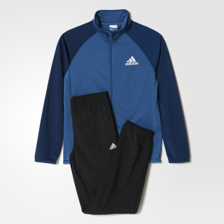 Pants con Chamarra Entry Open Adidas Junior TOP:CORE BLUE /MYSTERY BLUE  BOTTOM:BLACK BQ3026