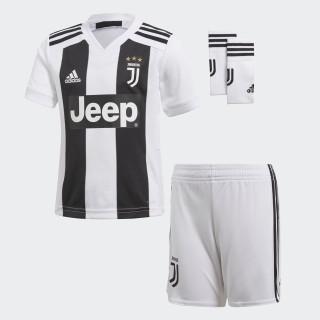 Juventus Turin Mini-Heimausrüstung White/Black CF3495