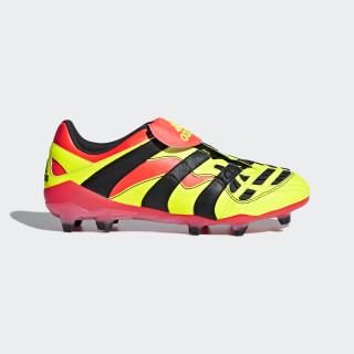 Predator Accelerator Firm Ground Voetbalschoenen Solar Yellow / Core Black / Solar Red BB7412