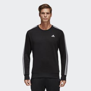 Essentials 3-Stripes Sweatshirt Black/White S98803