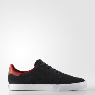 Tenis Seeley Court CORE BLACK/CORE BLACK/SCARLET BY4020