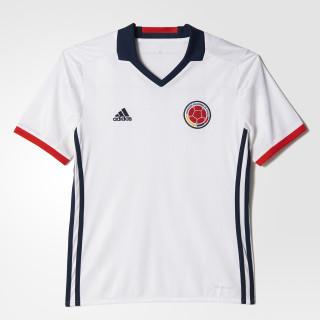 Camiseta local de Colombia niño 2016 WHITE/CONAVY/RED AC2841