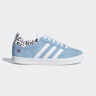 Gazelle sko Clear Blue / Ftwr White / Clear Blue B37215