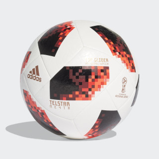 FIFA World Cup Knockout Top Glider Ball White / Solar Red / Black CW4684