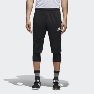 Tiro 17 Three-Quarter Pants Black / White AY2879