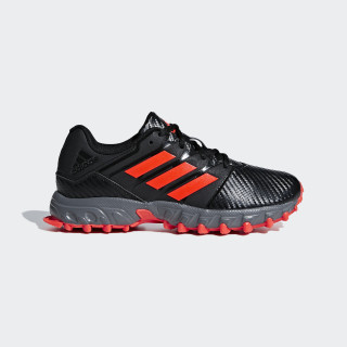 Chaussure Hockey Lux Core Black / Solar Red / Grey Four BB7249