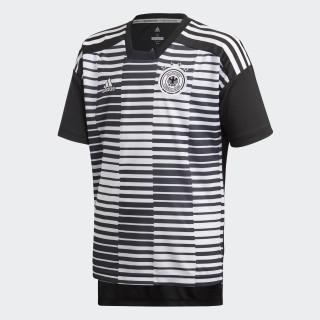 Camisa Pré-Jogo Alemanha 1 Juvenil 2018 WHITE/BLACK CF2448