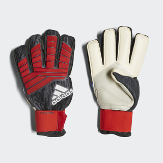 Predator Pro Fingersave Torwarthandschuhe Black / Red / White CW5583