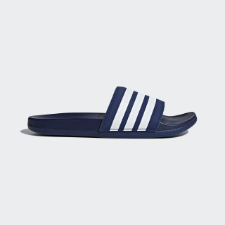 Chancla Adilette Cloudfoam Plus Stripes Dark Blue / Ftwr White / Dark Blue B42114