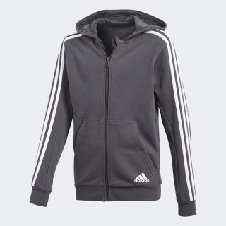 Sudadera Essentials 3-Stripes CARBON S18/WHITE CF6586