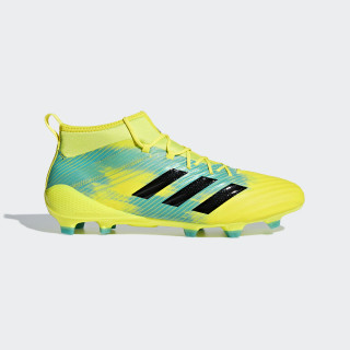Predator Flare FG Boots Shock Yellow / Core Black / Hi-Res Aqua AC7734