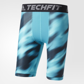 Mallas Techfit Chill Graphic Short ENERGY BLUE/PRINT BK3555