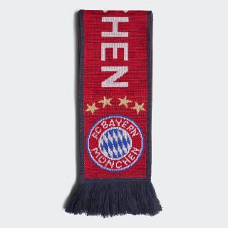 Écharpe FC Bayern Fcb True Red / Collegiate Navy / White DI0236