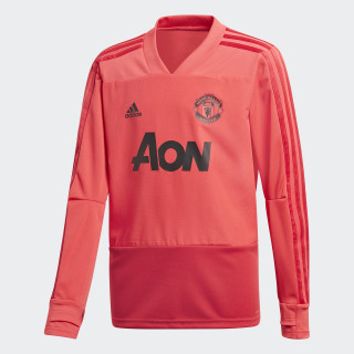 Manchester United Trainingsshirt Core Pink / Blaze Red / Black CW7594