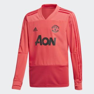 Manchester United træningstrøje Core Pink / Blaze Red / Black CW7594