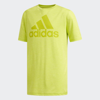 SS ADIDAS GRAPHIC TEE Bright Yellow CL2161