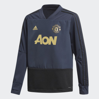 Manchester United Ultimate Training Top Night Navy CW7575