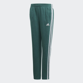 Pantalón Essentials 3 bandas Noble Green Mel / White DJ1792