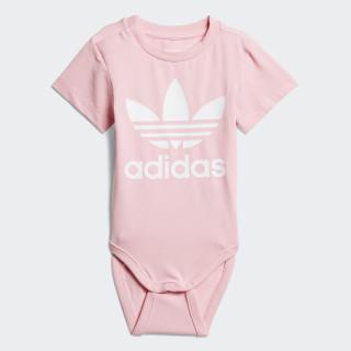 Trefoil body Light Pink / White D96071