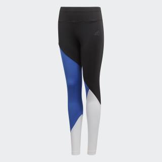 Training Colorblock tights Black / Hi-Res Blue / White DJ1062