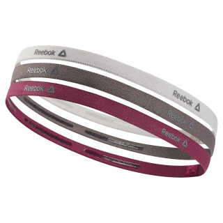Reebok ONE Series Thin Headbands Lavender Luck / Almost Grey / Twisted Berry D67928