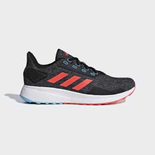 Zapatillas DURAMO 9 CORE BLACK/SOLAR RED/GREY FOUR F17 BB6919