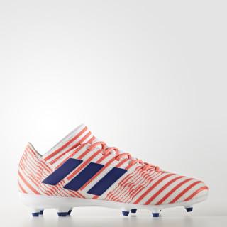 Botas para Piso Firme Nemeziz 17.3 Footwear White/Mystery Ink/Easy Coral CG3392