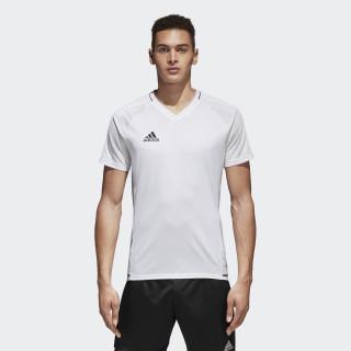 Camiseta de entrenamiento Tiro 17 White/Black BQ2801